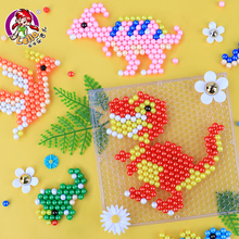 Ledger Water Mist Magic Bead Girl Boys Puzzle Beans Hand-made DIY Hand Beads to Make Children's Toys