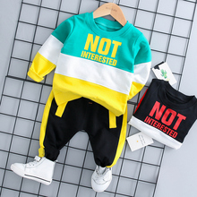Boys Spring and Autumn 2019 New Kids'Clothes for Babies