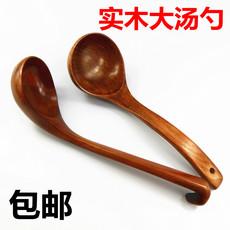 【天天特价】木勺实木汤勺粥勺打汤勺稀饭勺长柄大汤勺弯勺勾勺家