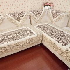唯美素雅|高贵品质|豹纹全棉绗缝沙发垫|飘窗垫 70/90系列