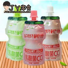 JY零食店 悠酷乳酸菌CC牛奶冰激凌布丁草莓味果冻饮料