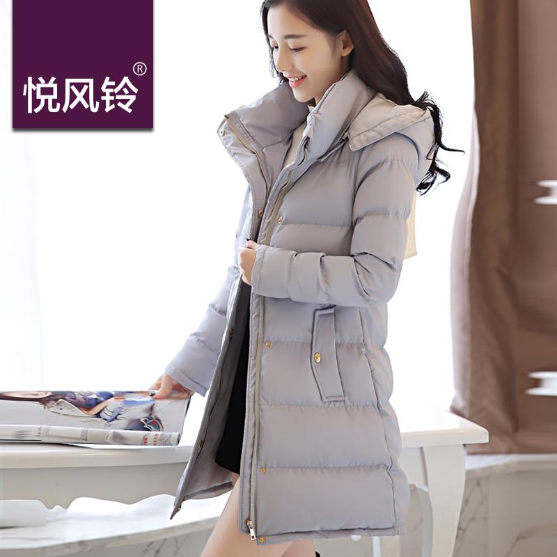 2015新款冬装韩版修身女装时尚加厚防寒女式中长款大码棉服棉衣女