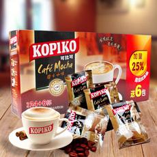 印度尼西亚进口 可比可摩卡咖啡办公室下午茶速溶咖啡 576g