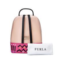 商城同款FURLA/芙拉双肩包代购现货16年冬季果冻包糖果拼色双肩包