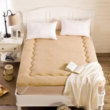 羊羔绒地铺睡垫 榻榻米床垫床褥学生宿舍单人可折叠1.5米垫被褥