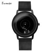 设计师创意设计炫酷气质简约腕表 创意礼物男表Enmex焦点概念手表