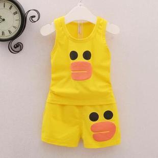 0-1岁半3-12个月5男6宝宝2套装夏季4女婴儿夏装衣服装7纯棉8卫衣9