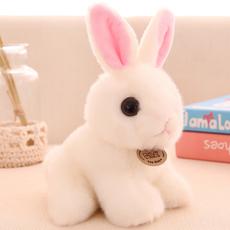 小兔子毛绒玩具仿真兔兔公仔白兔布娃娃玩偶儿童生日礼物女孩摆件