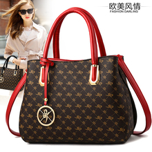 European and American brand bags 2019 new fashionable ladies'one-shoulder sloping handbag with large capacity a-lv1 ladies' bags