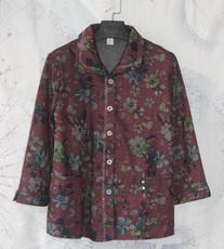 中老年女装秋装外套妈妈长袖上衣老年人大码服装60-70-80奶奶衣服