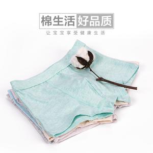 2条装儿童内裤男童平角裤纯棉中大童青少年全棉小学生短裤四角裤