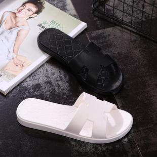 新款居家情侣室内防滑浴室洗澡塑料拖鞋男女士夏家居韩版可爱包邮