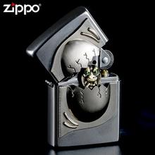珍藏版 zippo芝宝煤油防风打火机 开盖惊喜恐龙蛋 正品 欧版原装