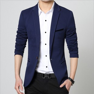 Men spring autumn business suit youth tops man coat 西装外套