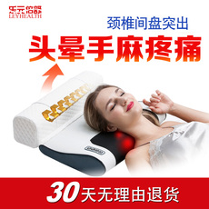 按摩枕颈椎枕头修复颈椎保健枕电动多功能按摩器颈部肩部揉捏家用