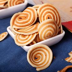 牛耳酥休闲零食手工特产糕点特色怀旧酥脆零食香脆猫耳朵酥500g
