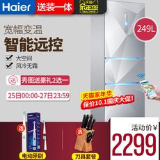 海尔三门冰箱风冷无霜家用三开门电冰箱Haier/海尔 BCD-249WDEGU1
