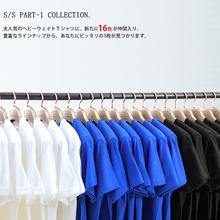 日本重磅厚实纯棉纯色短袖 无缝T恤衫 vintage 打底T恤日县信通款