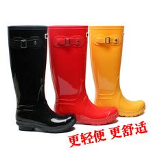 雨靴女成人韩国时尚雨鞋高筒水靴夏pvc水鞋防水防滑下雨穿的套鞋