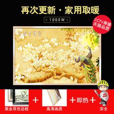 碳晶墙暖1000W对流电热板暖气片壁挂家用节能省电暖画采暖取暖器