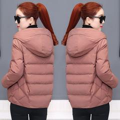 棉衣女短款冬装2018新款女装韩版宽松小棉袄女士加厚棉衣冬季外套