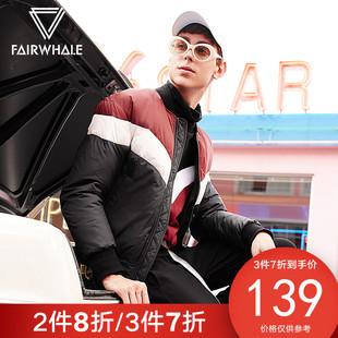 马克华菲 男装短款羽绒服#717415012060
