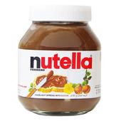 进口费列罗Nutella能多益巧克力酱榛果可可榛子酱750g 包邮