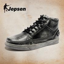 真皮鞋 棉鞋 吉普森冬季高帮鞋 复古板鞋 马丁男鞋 5141韩版 子休闲潮鞋