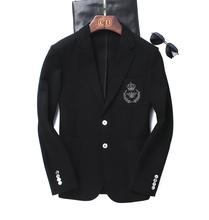 西服单西便服外套 帅气 男装 飞机师系列 高密高克定织罗马布