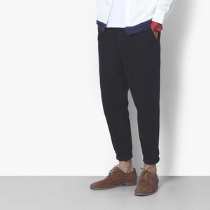 二十八间原创新男装哈伦裤纯色黑色小脚裤潮男休闲裤青年学生裤子哈伦裤男