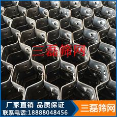 耐高温六角龟甲网不锈钢大泥爪龟甲网 碳钢龟甲网 耐磨材料衬里