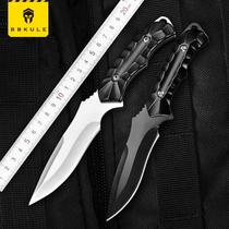 户外军刀直刀刀具防身军工刀长款 荒野求生特种兵随身小刀开刃锋利