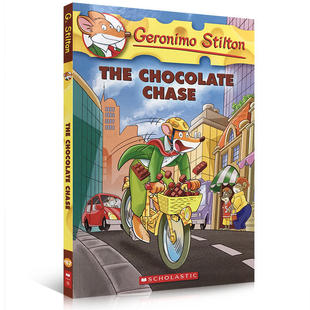 【中商原版】老鼠记者系列67 追寻巧克力 英文原版  The Chocolate Chase Geronimo Stilton 学乐经典畅销儿童小说