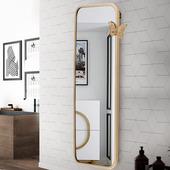 镜子贴墙穿衣镜家用全身镜女落地镜学生宿舍试衣镜卧室壁挂大镜子
