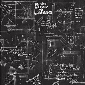 美式复古怀旧水泥涂鸦网吧loft个性海报英文字母黑板壁纸背景墙纸