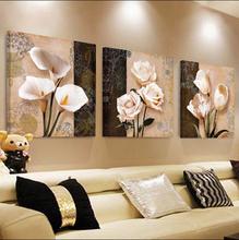 现代水晶膜卧室画沙发背景墙三联画壁画家居挂画墙画 客厅装 饰画