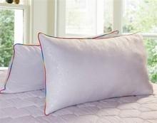 特价 舒适单人枕 磨绒印花枕头 纤维枕芯 床上枕芯 颈椎保健枕 包邮