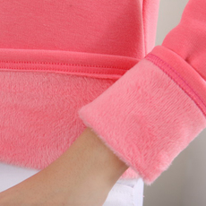 加绒加厚秋冬外穿秋衣紧身圆领上衣短款打底衫保暖内搭长袖t恤女