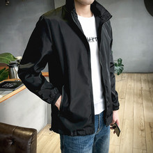 Spring and Autumn 2019 New Jacket Men's Korean Edition Fashionable Fashionable Men's Jacket