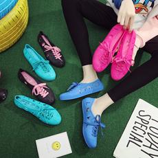 夏秋塑胶女韩版包头运动沙滩散步跳舞蹈跑步鞋低帮防水耐磨凉鞋