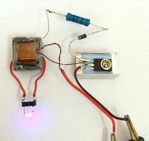 逆变升压高压发生器电弧点烟<span class=H>点火</span>器<span class=H>线圈</span>模块<span class=H>电子</span>科技小制作套件