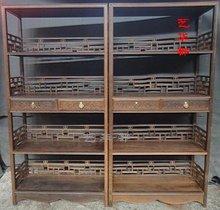 守炯揖 非洲鸡翅木书架 书柜 书房系类 中式家具