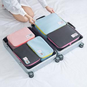 出差便携防水旅行<span class=H>鞋子</span>内衣收纳袋男女大容量旅行包短途手提行李袋
