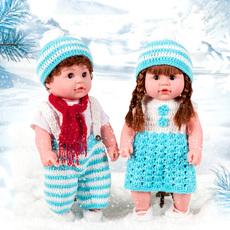 仿真婴儿娃娃会说话的洋娃娃 软胶宝宝家政早教女孩儿童玩具