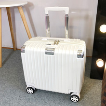 Korean version of small suitcase pull-rod suitcase lovely young fresh 18-inch boarding suitcase Mini suitcase man password suitcase
