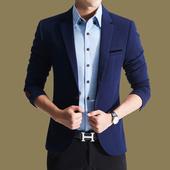 春季休闲男士西服新款修身型小西装商务外套韩版男装青年帅气潮流