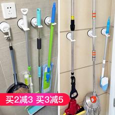 韩国deHub强力吸盘挂钩卫生间拖把架无痕免钉挂架壁挂拖把夹卡座