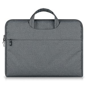 苹果华硕笔记本macbook电脑包手提air女12男15.6寸14戴尔惠普13.3公文包pro文件简约11 帆布内胆单肩thinkpad