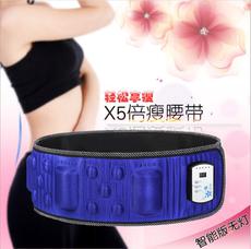 X5倍瘦腰带加热智能液晶无线充电版腹部腰部按摩器甩脂机震动