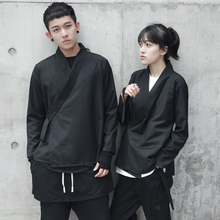 Spring and Autumn Dark Retro-Chinese Dresses for Men and Women